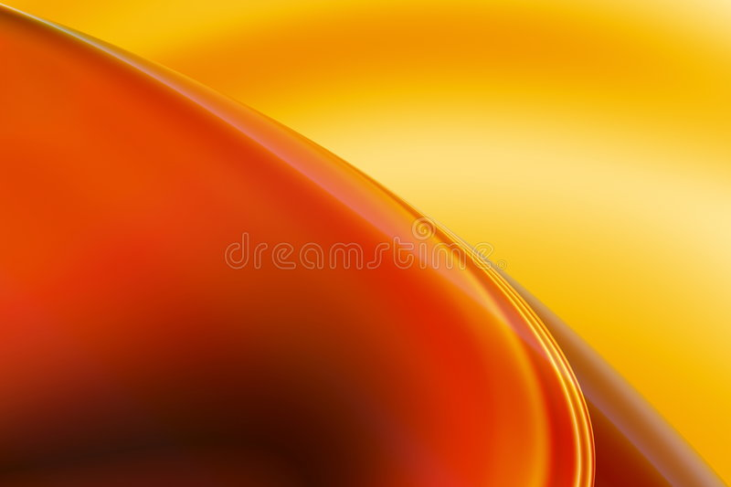 Download Abstract warm background stock illustration. Image of flowing - 6670522