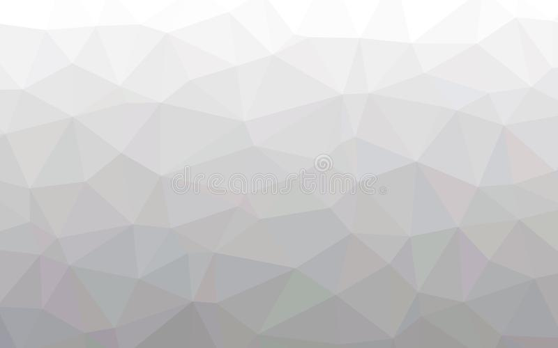 Abstract warm white polygon wallpaper stock images