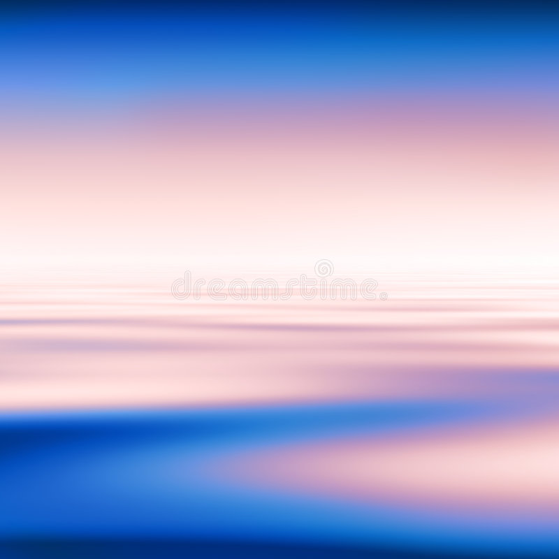 Abstract water background royalty free illustration