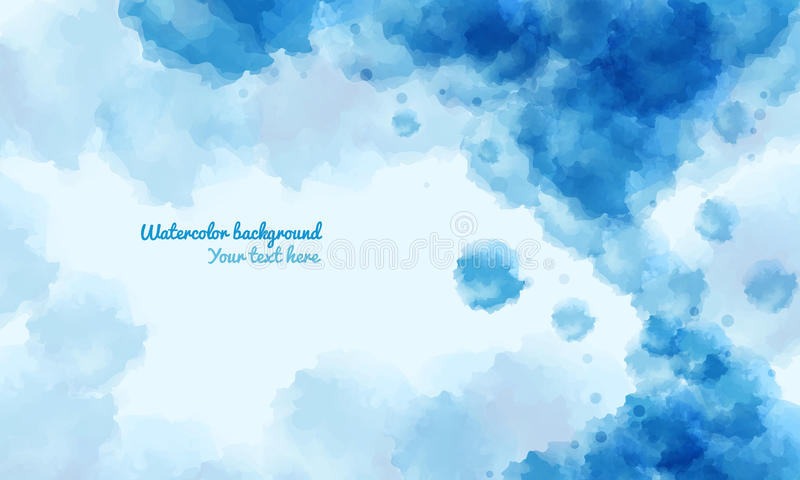 Abstract water color background , with space for the text vector illustration