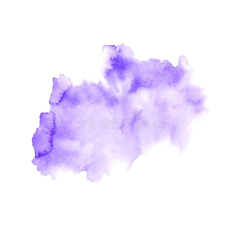 Abstract water colorful painting. Pastel color vector illustration concept. royalty free illustration