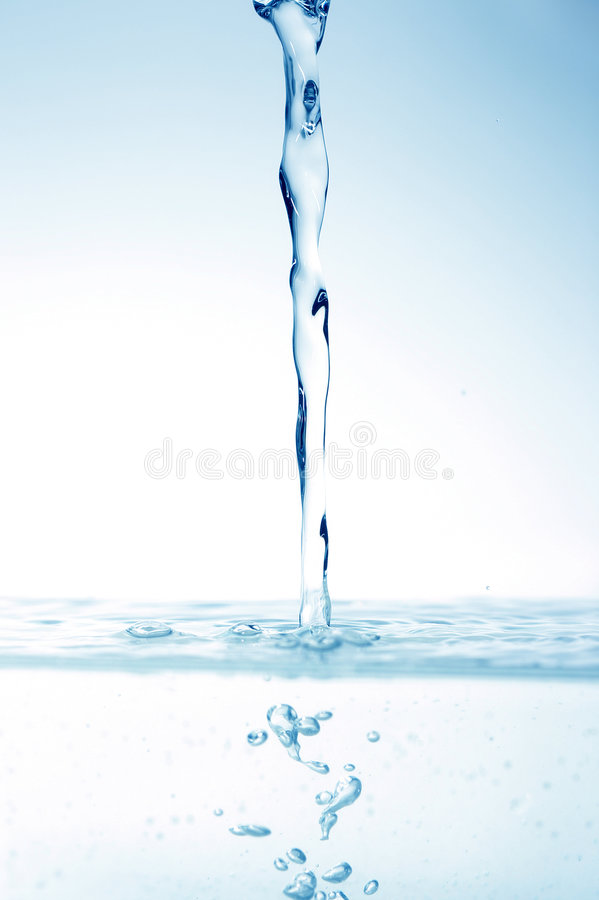 Abstract water drops royalty free stock images