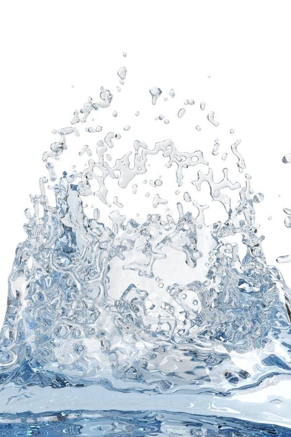 Download Abstract water, splash stock illustration. Illustration of frozen - 5676913