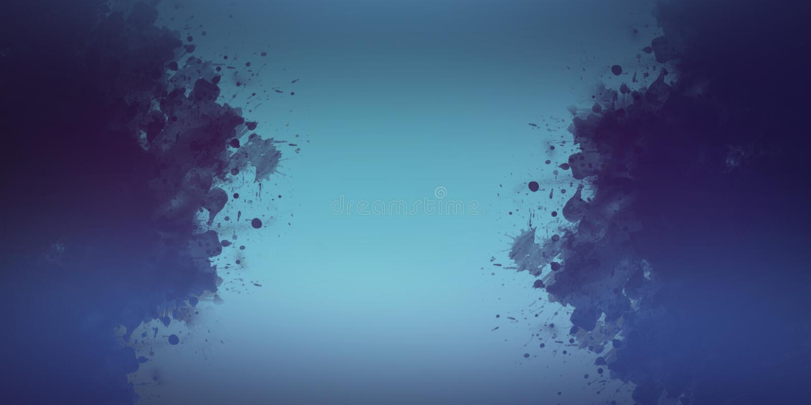Abstract watercolor art hand paint background royalty free illustration