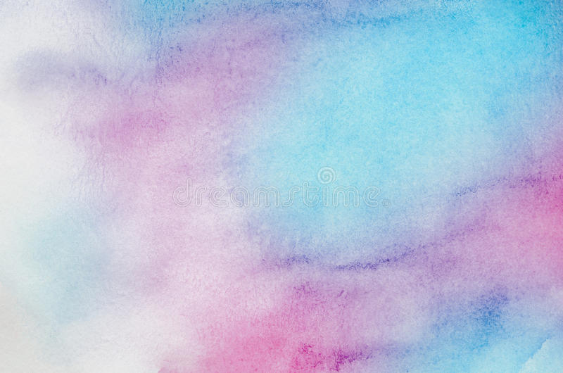 Abstract watercolor background stock illustration for Pastel teal paint
