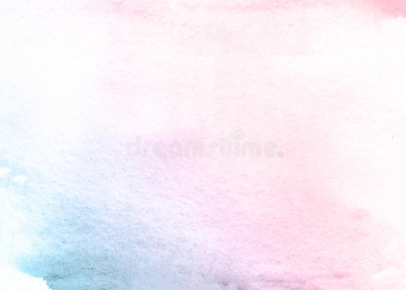 Pin and blue flower watercolor texture background, beautiful creative planet. Abstract watercolor background. Beautiful paper texture. Artistic hand drawn color royalty free stock photos