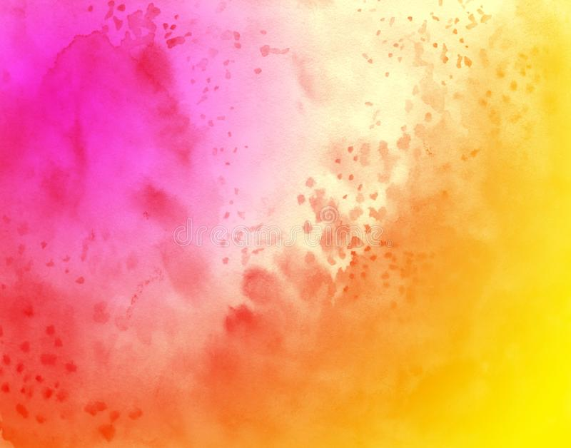 Abstract watercolor background, wallpaper gradient color, cloudy royalty free stock images