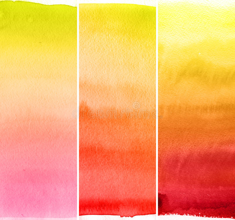 Abstract watercolor backgrounds royalty free stock photos