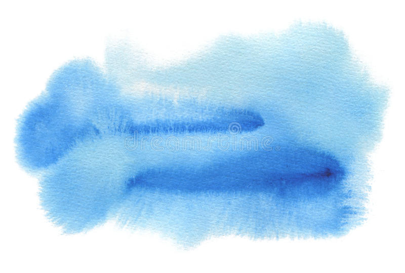 Abstract watercolor blot painted background. Texture paper. Abstract watercolor blue blot painted background. Texture paper. Isolated stock photos