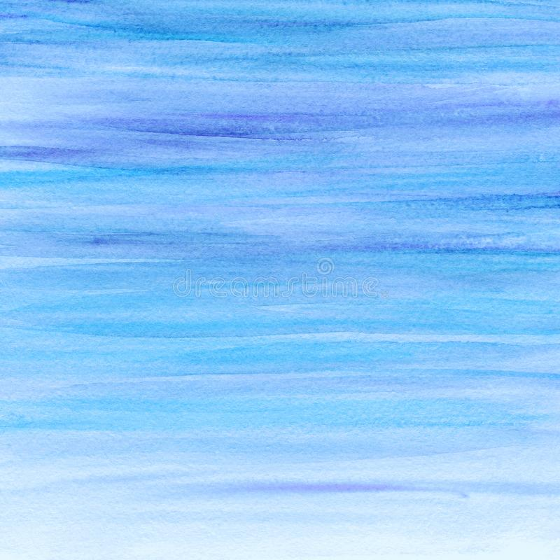 Abstract watercolor blue background. Watercolor paint. Watercolor texture stock photo