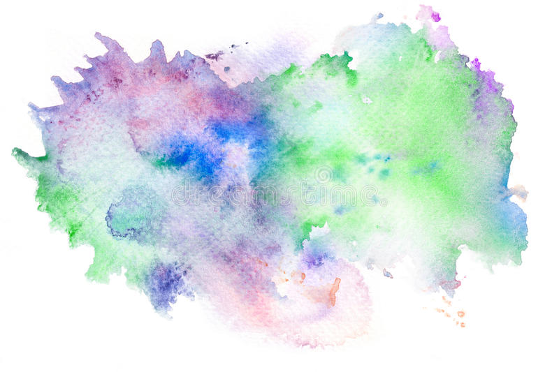 abstract watercolor brush stroke background  stock