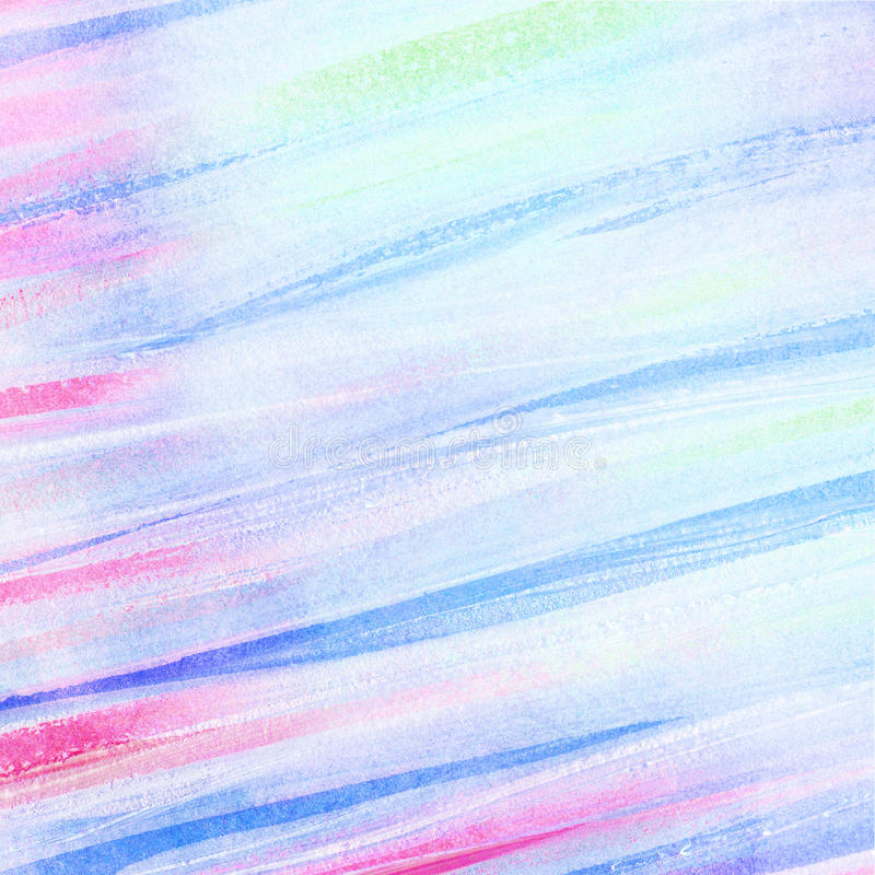 Abstract watercolor brush strokes. Abstract artistic watercolor brush strokes royalty free stock photography