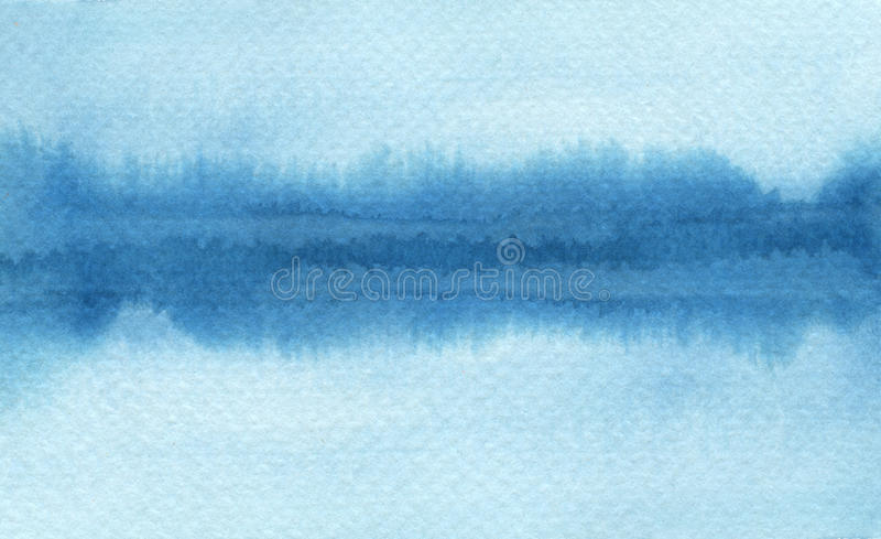 Abstract watercolor brush strokes painted background. Texture pa vector illustration