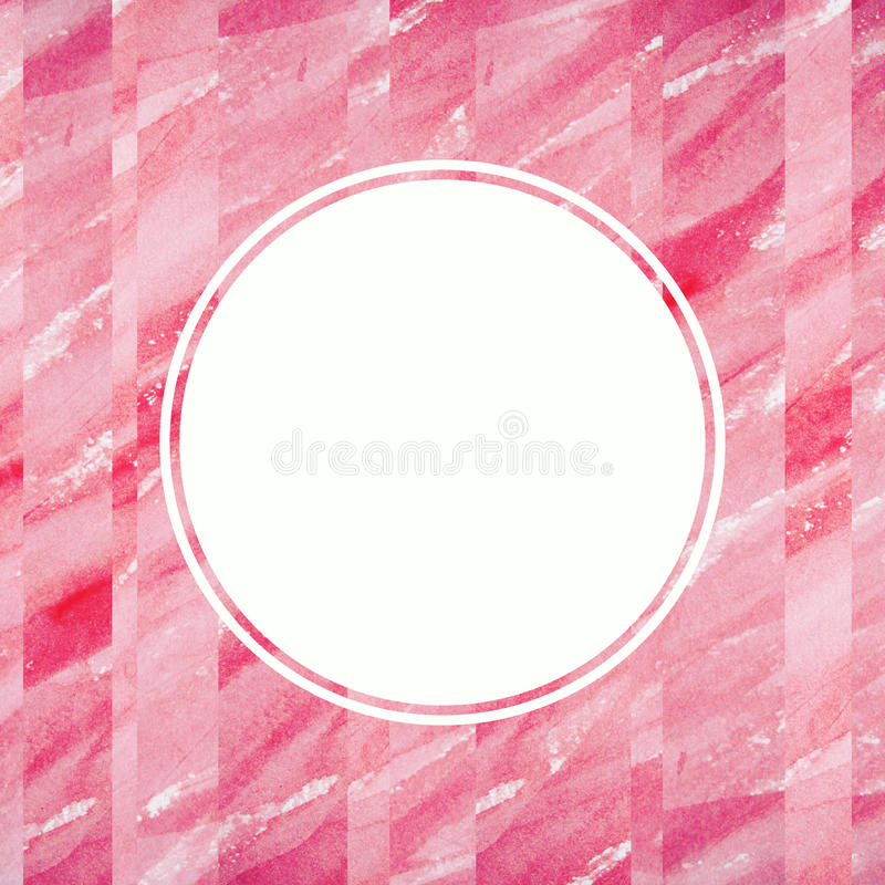 Abstract watercolor design element. Text frame. royalty free stock photo