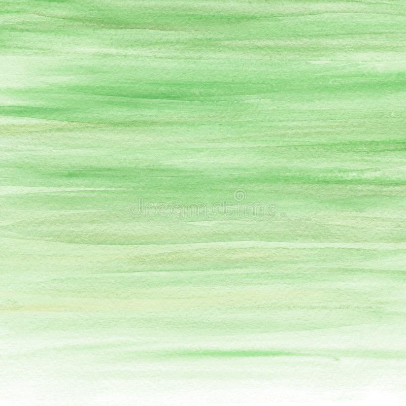 Abstract watercolor green background. Watercolor paint. Watercolor texture stock images