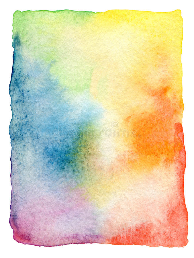 Free Abstract Watercolor Painted Background Stock Image - 32577861