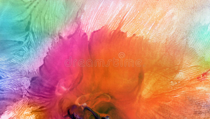 Abstract watercolor painted background. Abstract acrylic and watercolor painted background stock photo