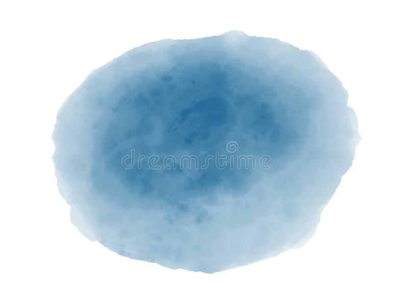 Abstract watercolor painted digital background, copy space royalty free illustration