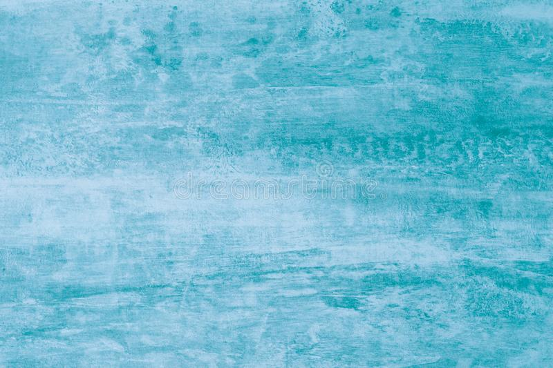 Abstract watercolor pattern with green paint stains. Turquoise texture, aqua color, light background. Soft aquarelle, watercolor d royalty free stock image