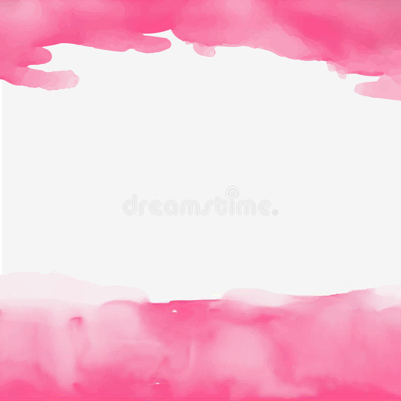 Abstract watercolor pink background beautiful picture royalty free stock photography