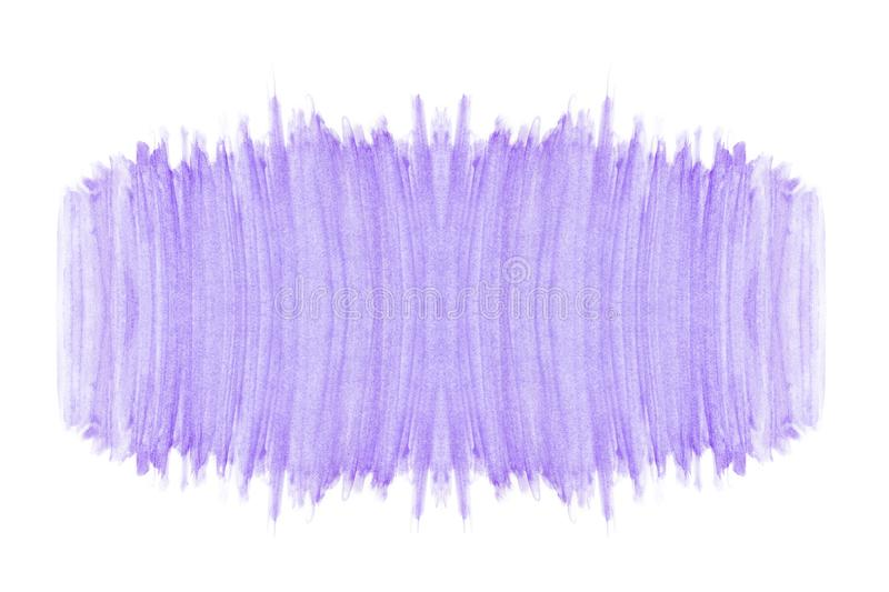Abstract watercolor purple violet shades pattern texture art hand painted on white background with copy space royalty free stock photos