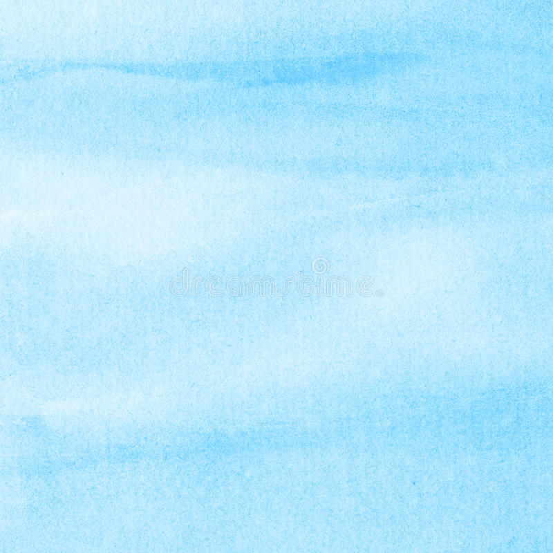 Abstract watercolor sky stock illustration