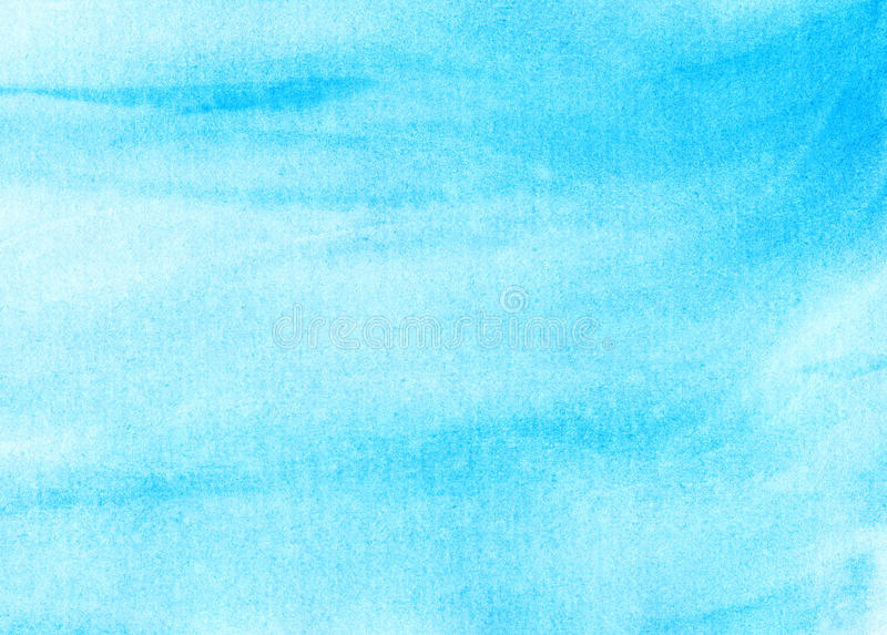 Abstract watercolor sky, clouds. Background royalty free illustration