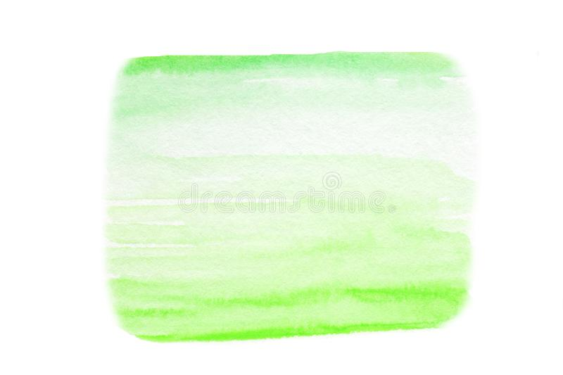 Abstract watercolor splash. Wet Watercolour - blue and green d stock photography