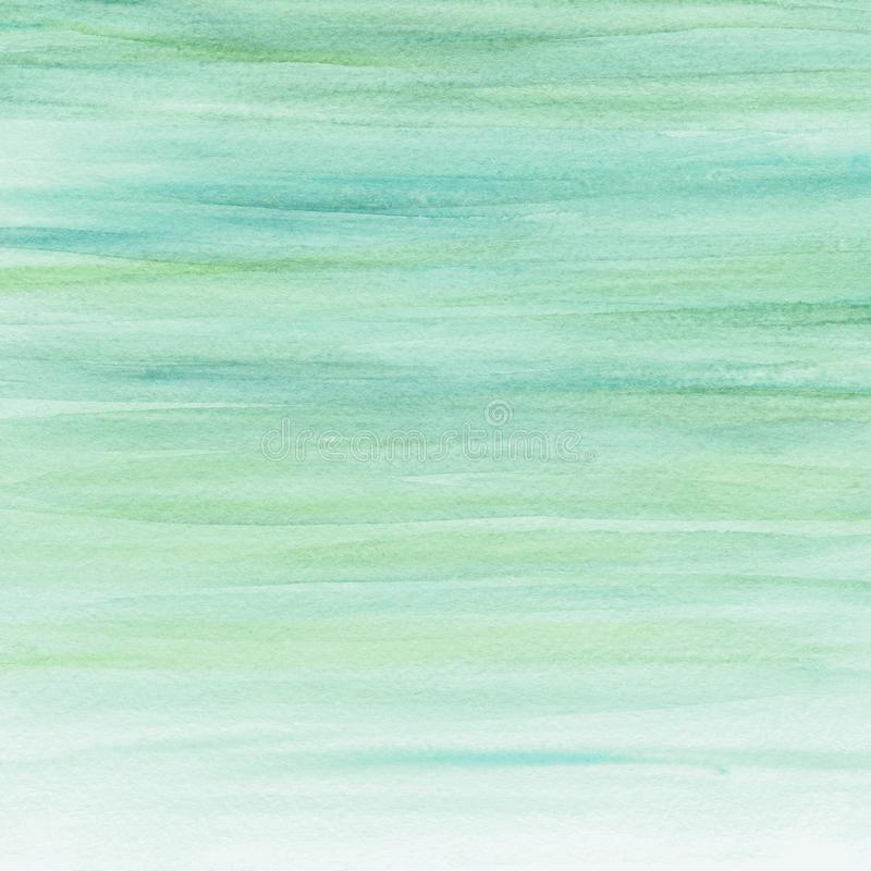 Abstract watercolor turquoise background. Watercolor paint. Watercolor texture royalty free stock photo