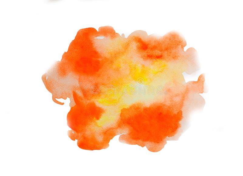 Abstract watercolor on white background, abstract watercolor background. Abstract watercolor on white background abstract watercolor background royalty free illustration