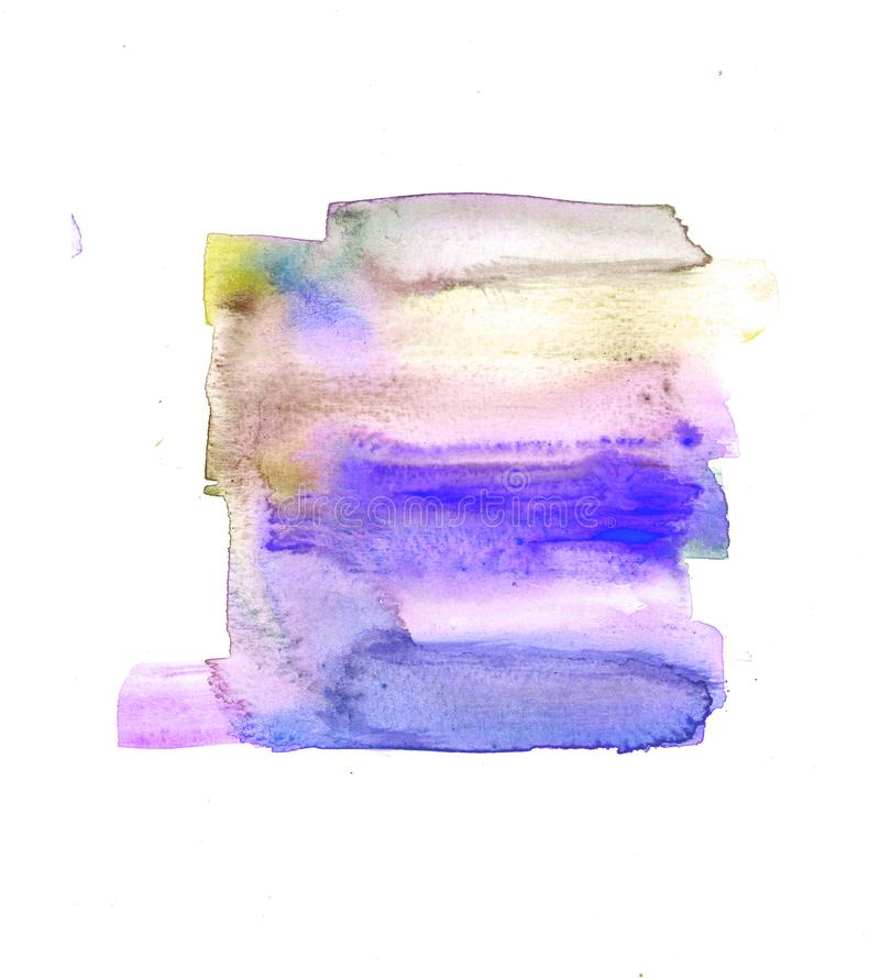 Abstract Watercolour paint fine art textures royalty free illustration