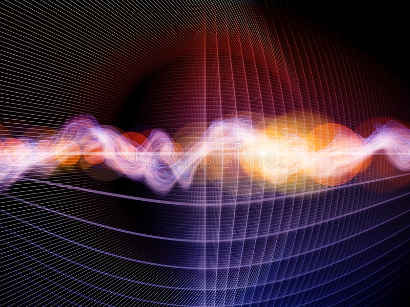 Download Abstract Wave Analyzer stock illustration. Illustration of flow - 21324113