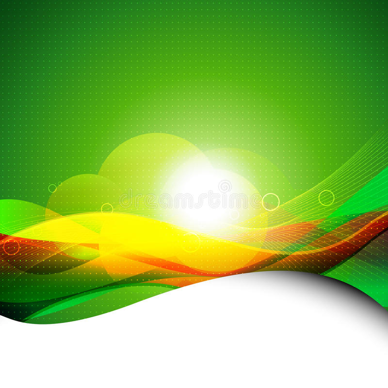 Download Abstract wave background stock vector. Image of light - 22743539