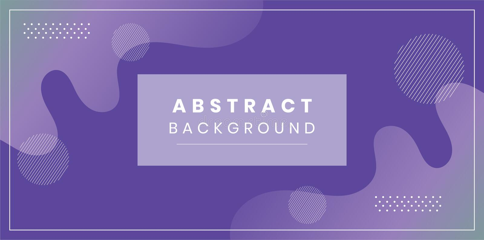Abstract wave background vector minimal layout royalty free illustration