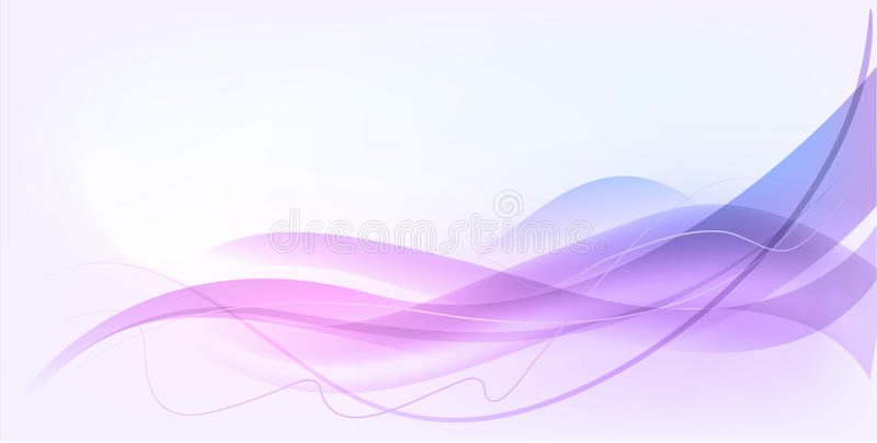 Abstract wave design stock illustration