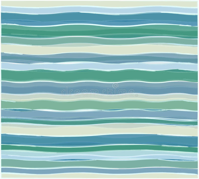 Abstract wave pattern royalty free illustration