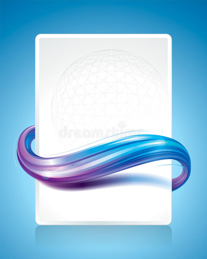 Abstract Wave stock illustration