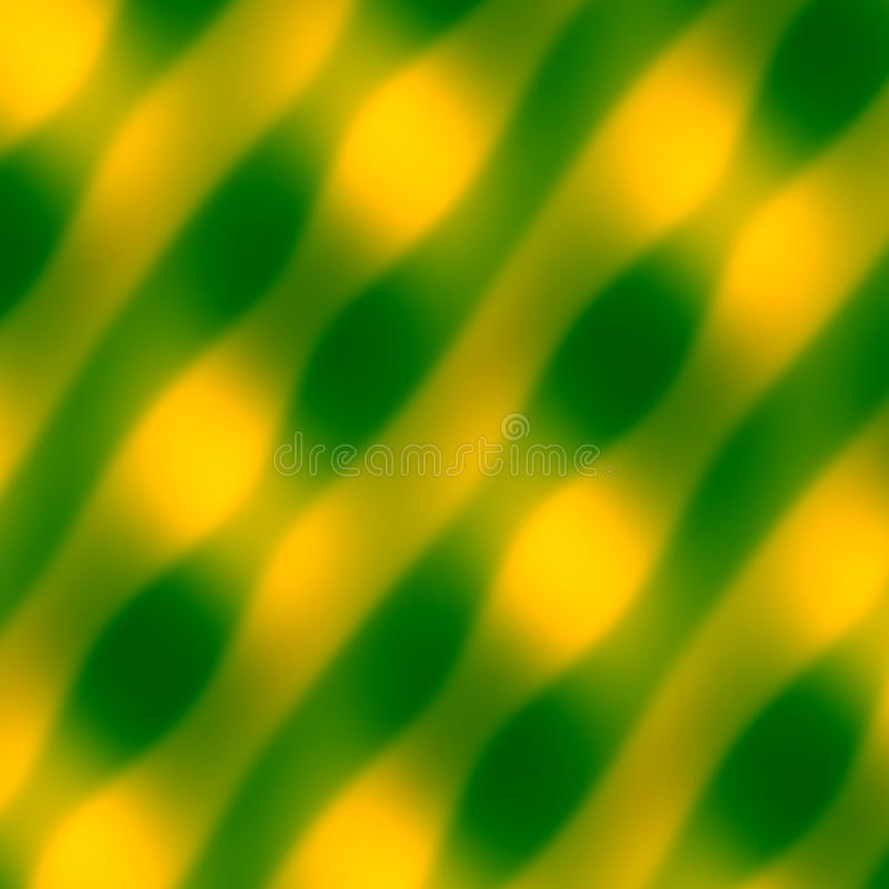 Abstract Wave Pattern. Yellow Green Background. Blurred Decorative Illustration. Art Texture. Soft Colored Artwork. Simple Image. vector illustration