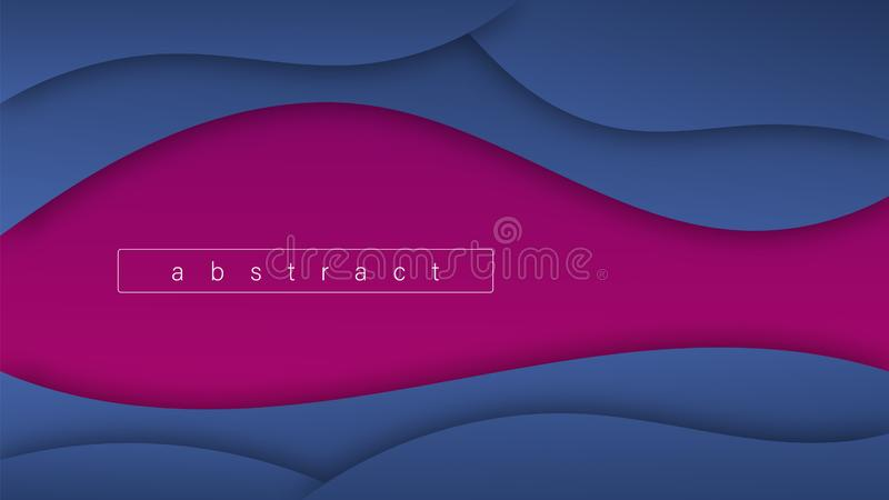 Abstract Wave Shapes Gradients vector illustration