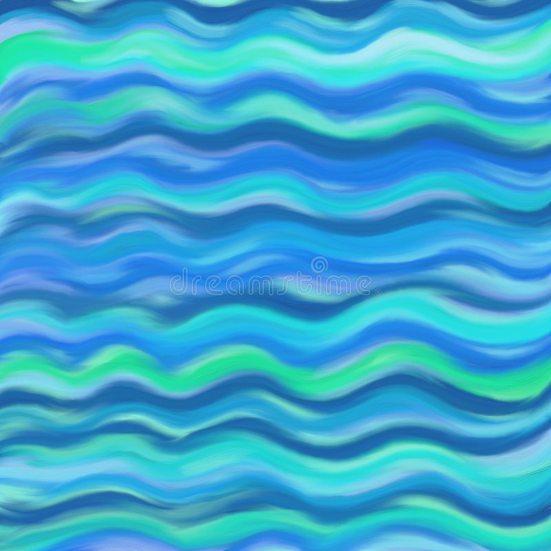 Abstract waves royalty free illustration