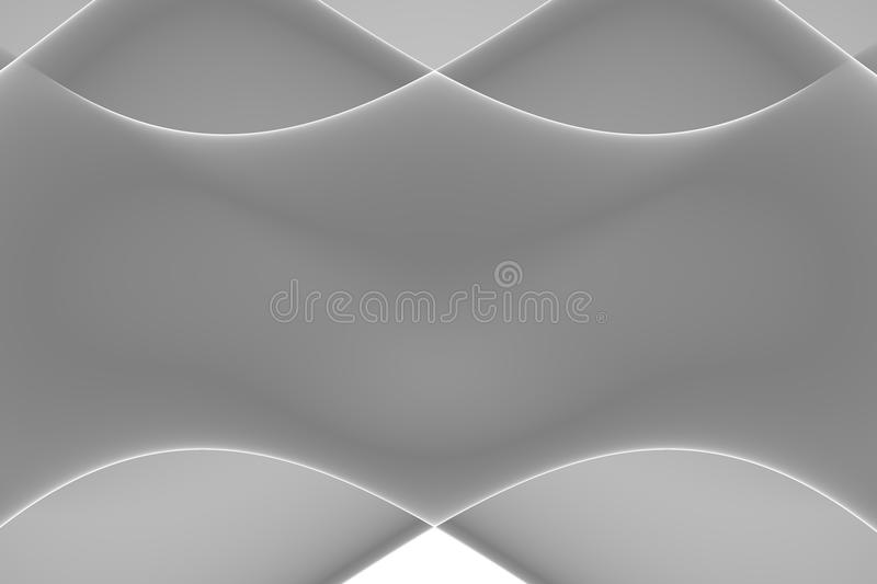 Abstract waves stock image
