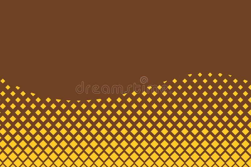Abstract waving background pattern square dots. Simple wallpaper for banners, clothes, Gradient Design. Futuristic Comic. Abstract waving background pattern vector illustration