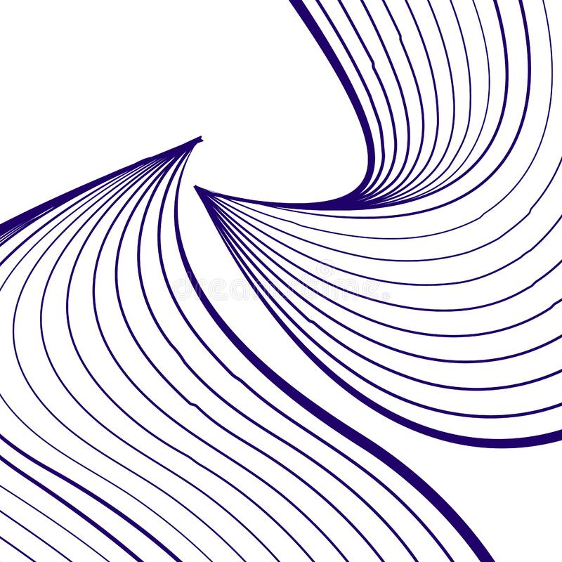 Abstract wavy background for banner, flyer, book cover, poster. vector illustration