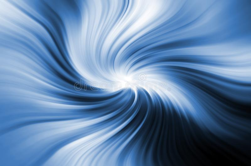 Abstract wavy background in blue royalty free stock image