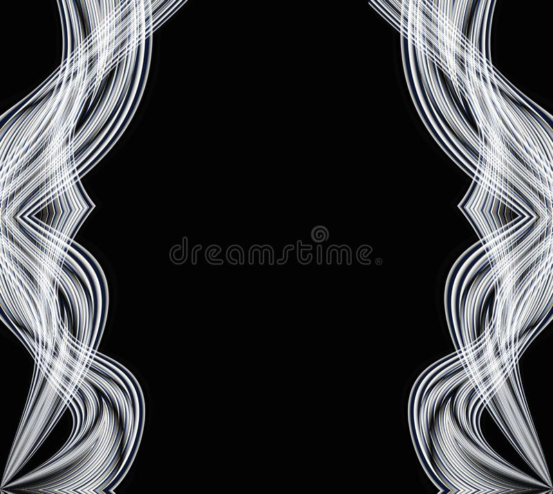 Abstract Wavy Lines stock photos