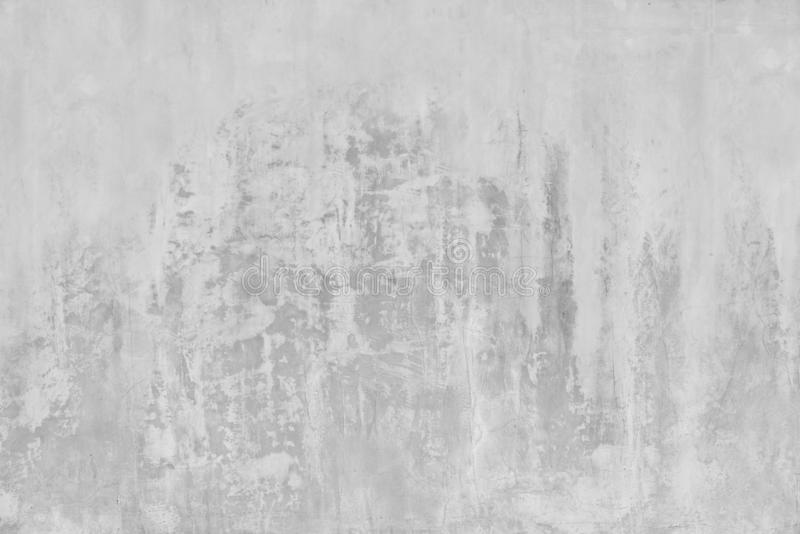 Abstract weathered texture stained old stucco light gray and aged paint white brick wall background in rural room, grungy rusty bl stock photos