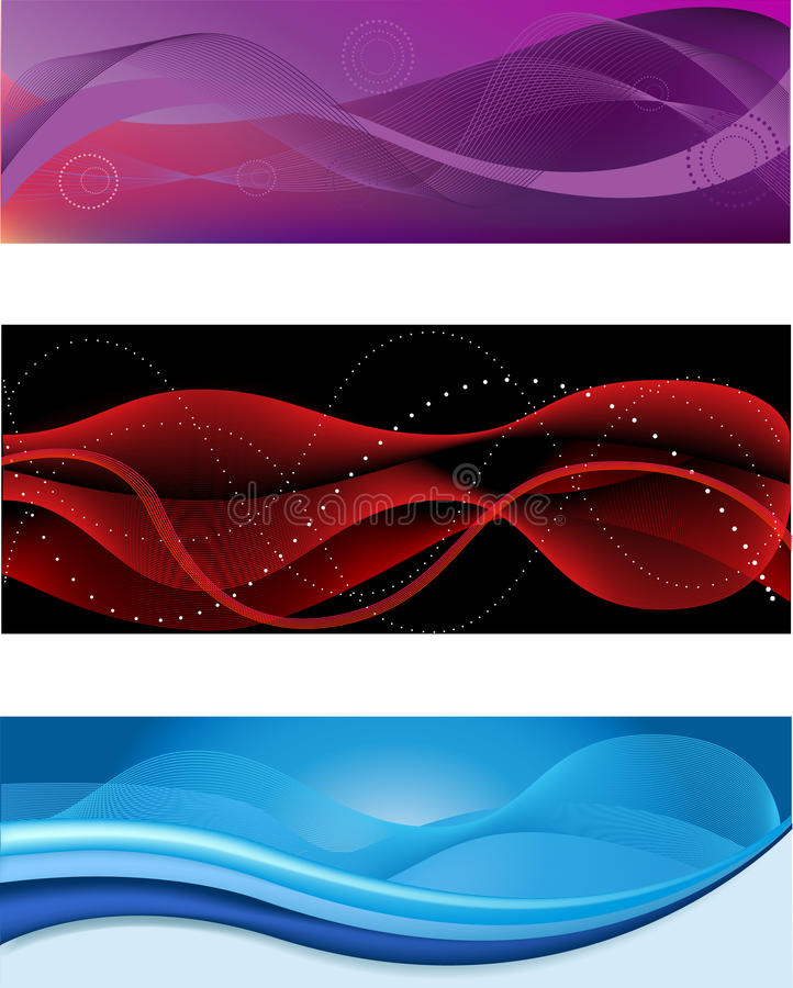 Download Abstract web header stock vector. Image of light, commercial - 25032753