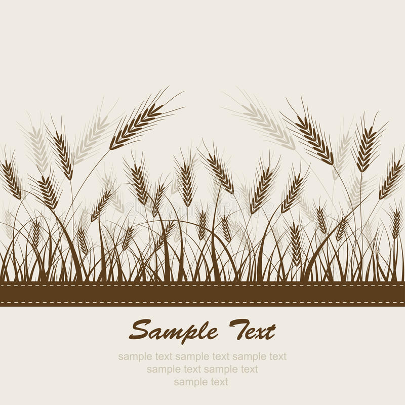 Download Abstract wheat background stock vector. Illustration of pattern - 20617847