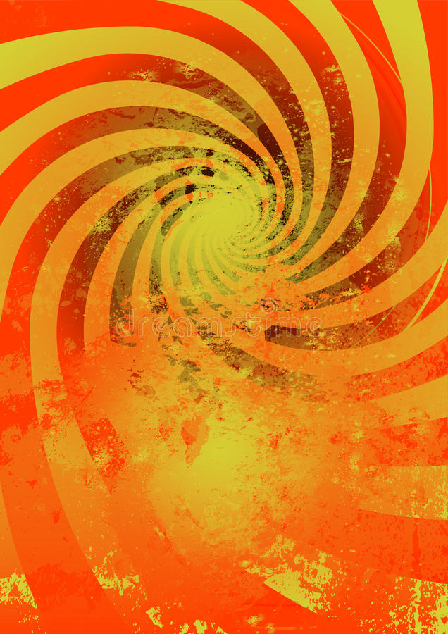 Abstract Whirlpool Background (no Mesh) Stock Images