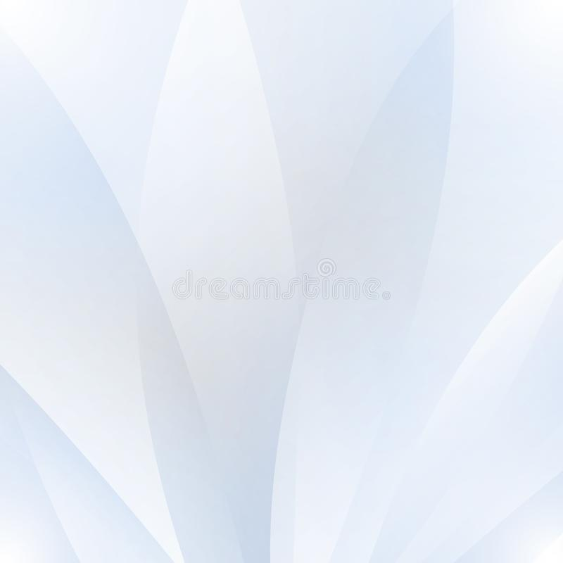 Abstract white background with waves and shadows vector illustration